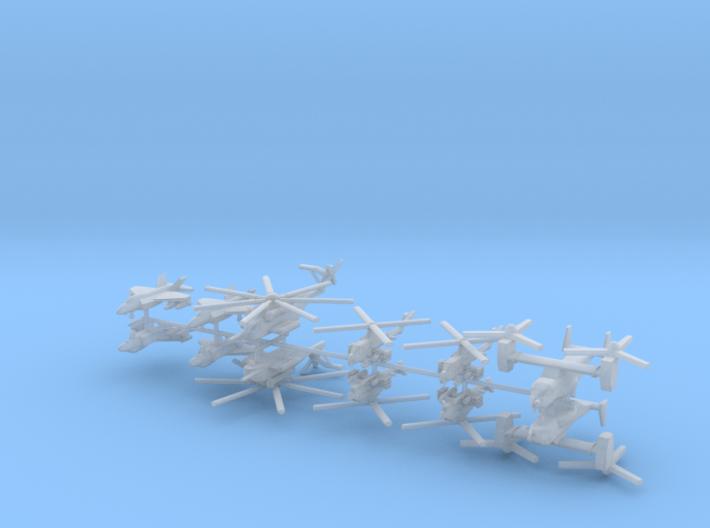 1/700 US Naval Aviation Kit 9 3d printed