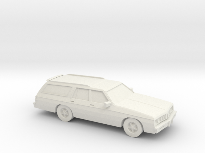 1/87 1985 Oldsmobil Custom Cruiser 3d printed