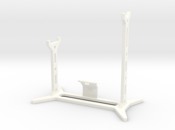 DL44 Stand with plate support 3d printed