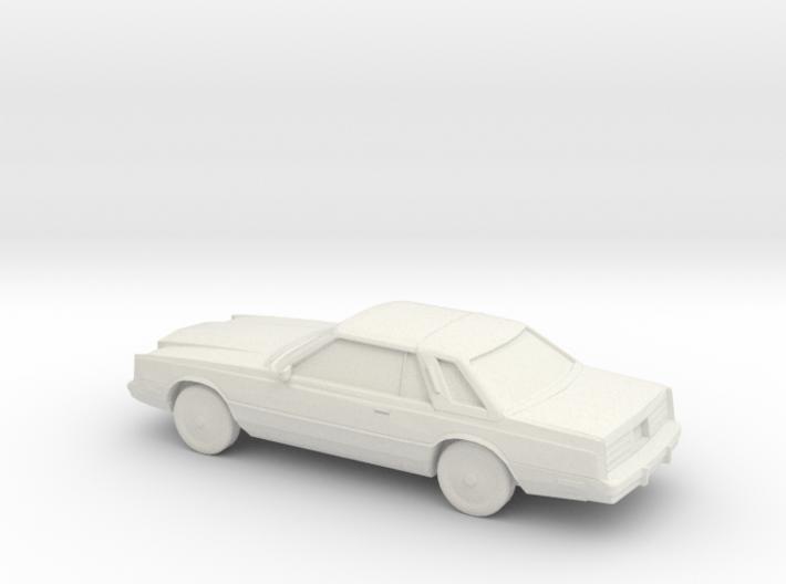 1/87 1980 Chrysler Cordoba 3d printed
