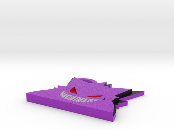 Gengar KeyChain 3d printed