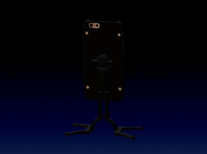 Photographers Quadropod & Selfie Stick For iPhone  3d printed