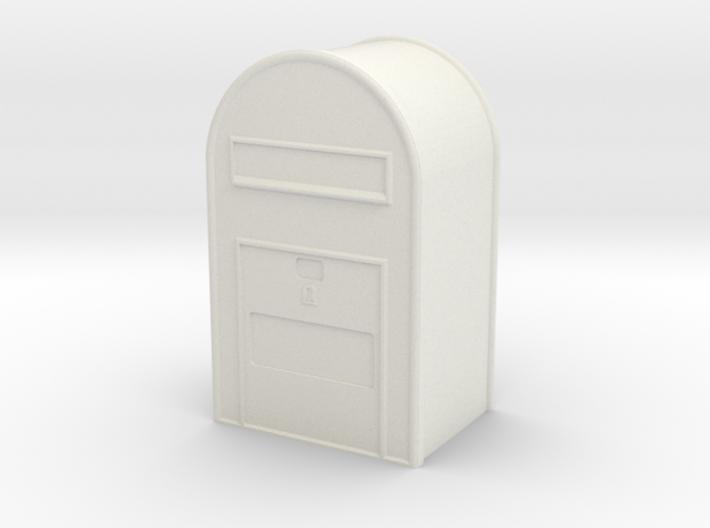 1/32 Post Danmark - Postkasse 3d printed