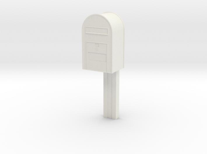 1/120 - Post Danmark - Postkasse på stang 3d printed