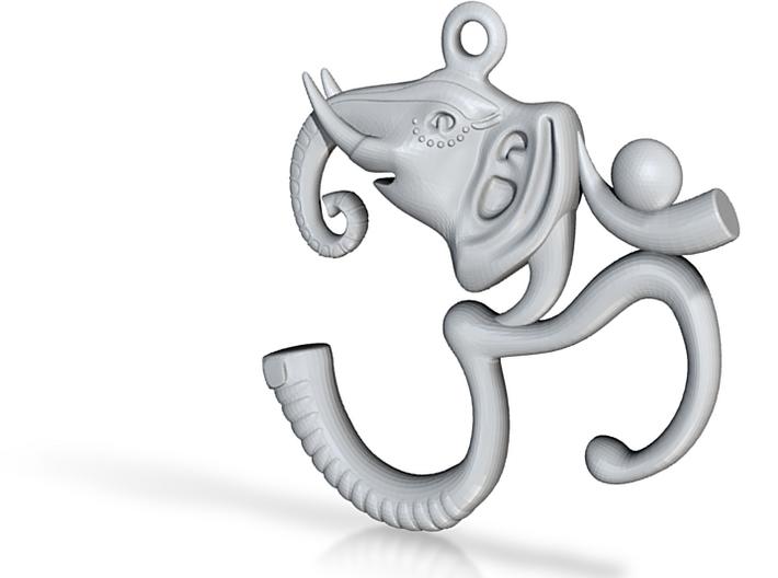 Ganesh Pendant 3d printed