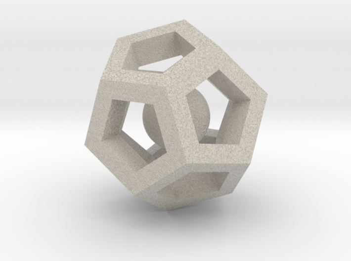 Dodecahedron Mini 3d printed