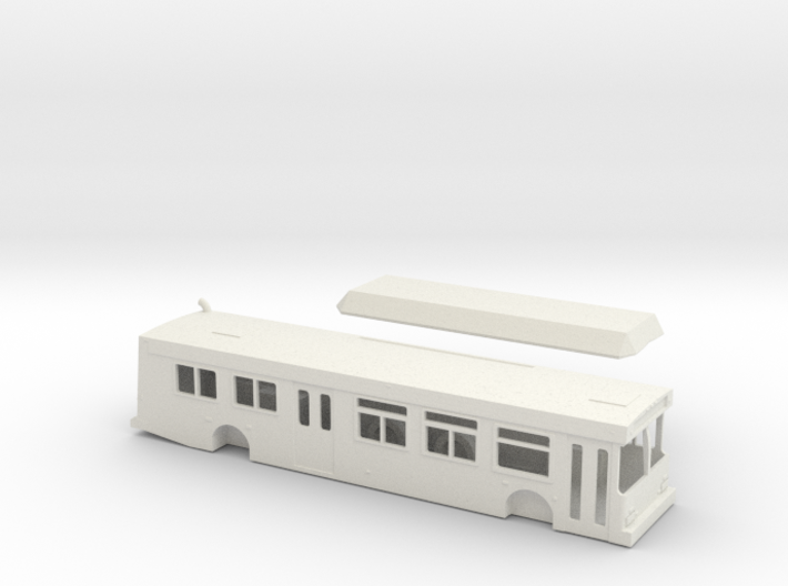 HO scale new flyer c40lf sdmts (improved) 3d printed