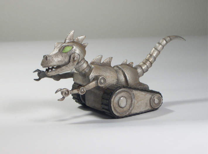 Clankosaurus 3d printed A hand-painted print