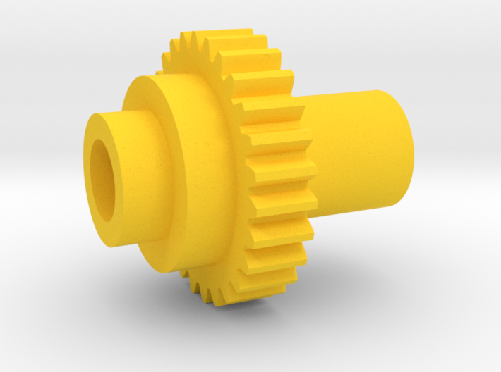 Inventing Room Key Left Gear (8 of 9) 3d printed