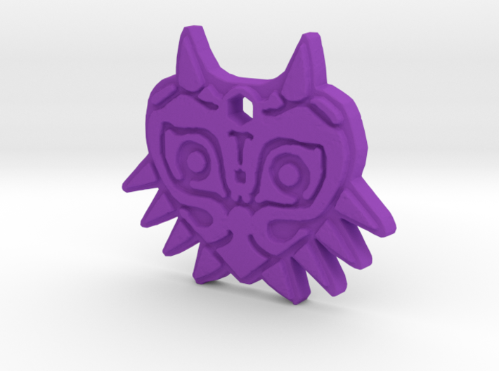 Zelda Majoras Mask Necklace 3d printed