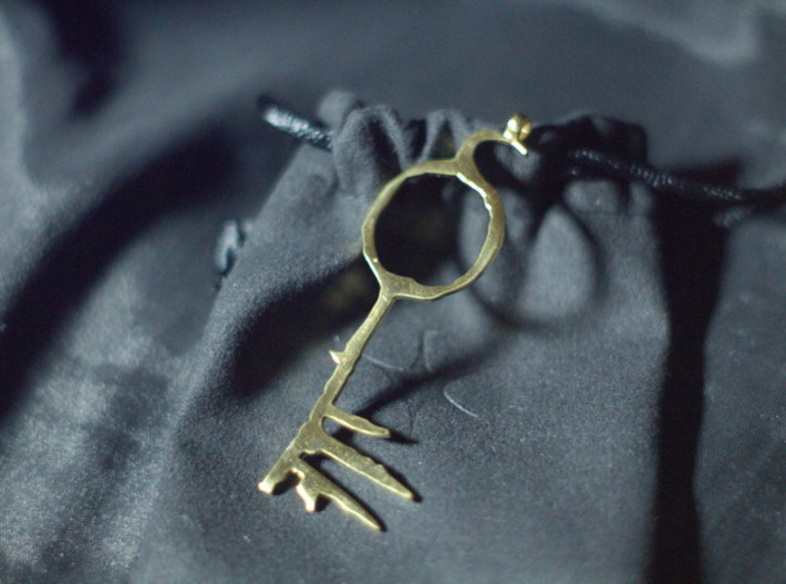 Lucifer's Key to Hell, from Sandman 3d printed