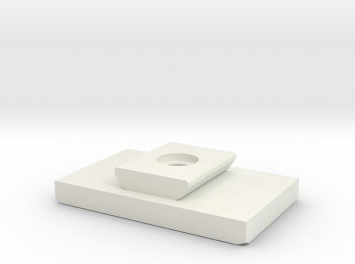 Tripod Shoe Generic Replacement for SLIK U6000 3d printed