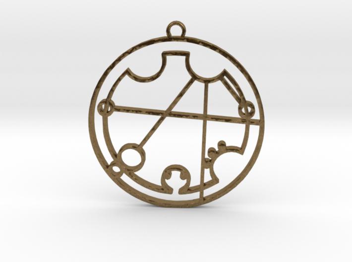Christina - Necklace 3d printed