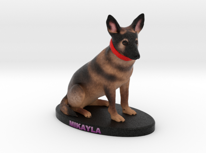 Custom Dog Figurine - Mikayla 3d printed