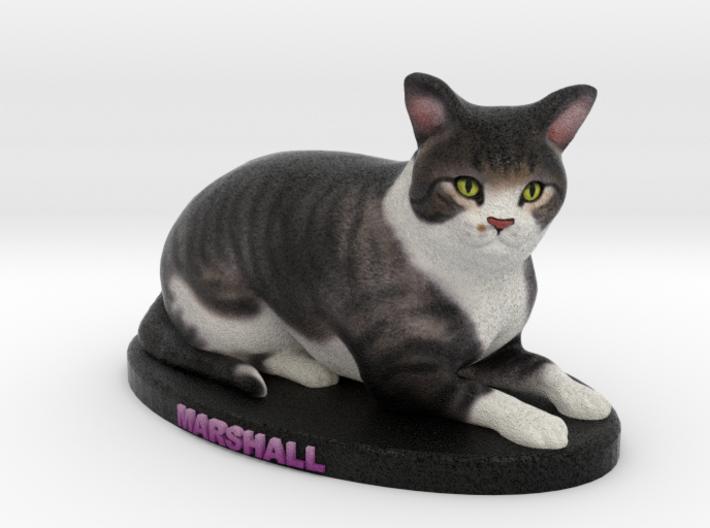 Custom Cat Figurine - Marshall 3d printed