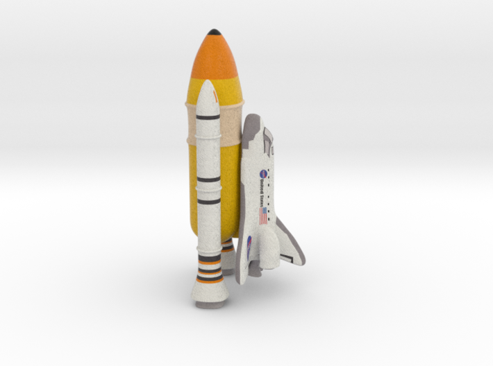 Shuttle 3d printed
