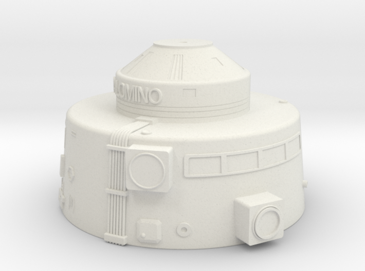 1.192 Pal Upper Hull V0.1 (repaired) 3d printed