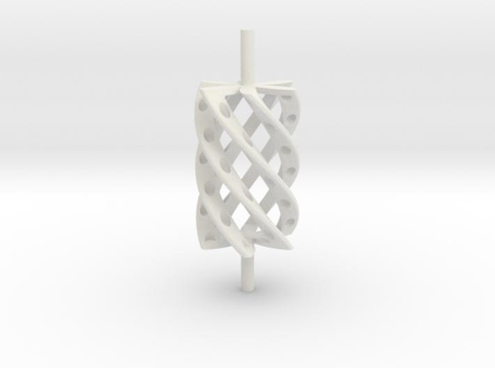 Twist Roller4hollo 3d printed