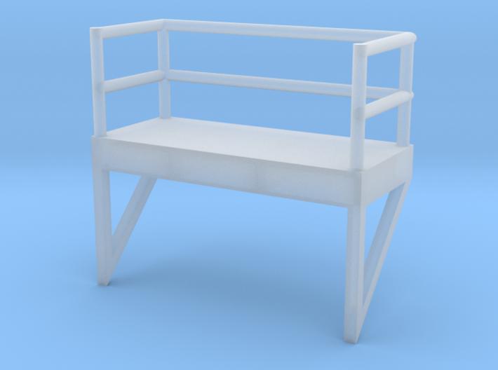 'N Scale' - 8' W - Ladder Platform 3d printed