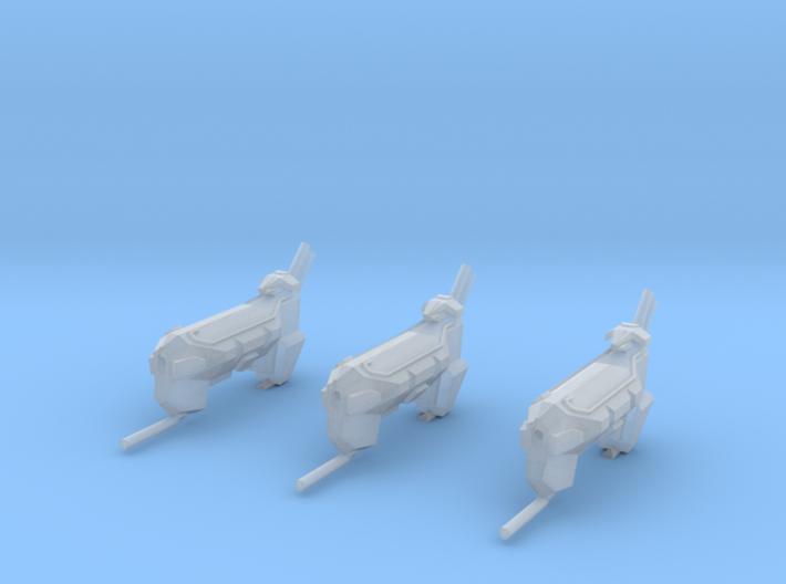 "Kushan ""Firelance"" Ion Cannon Frigates(3)(Variant) 3d printed"