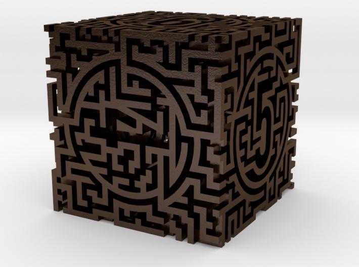 Labyrinthine Die6 3d printed