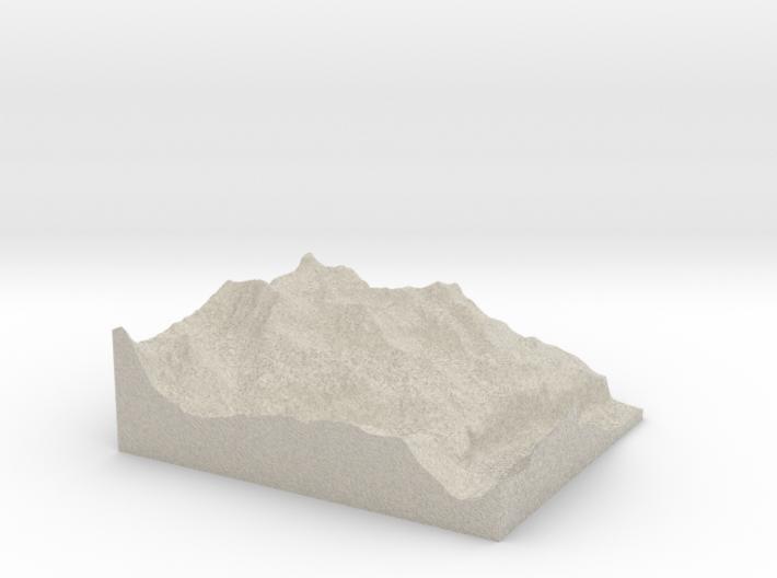 Model of Birg 3d printed