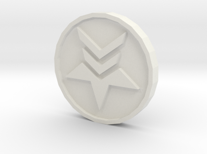 Paragon Renegade Coin 3d printed