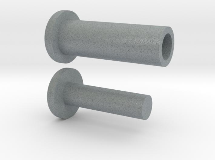 VENOM Thunderball turret plugs. (5 of 8) 3d printed