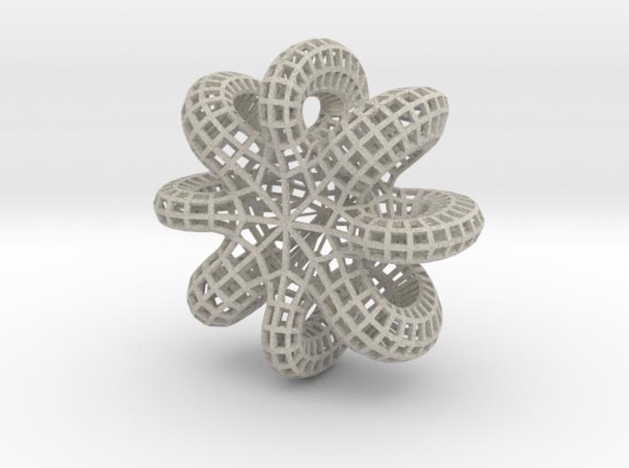 Table base (Starfish) 3d printed