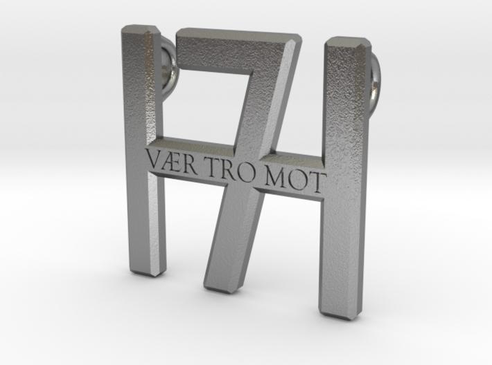 Smykke - Vær tro mot H7 vedhæng (lille) 3d printed