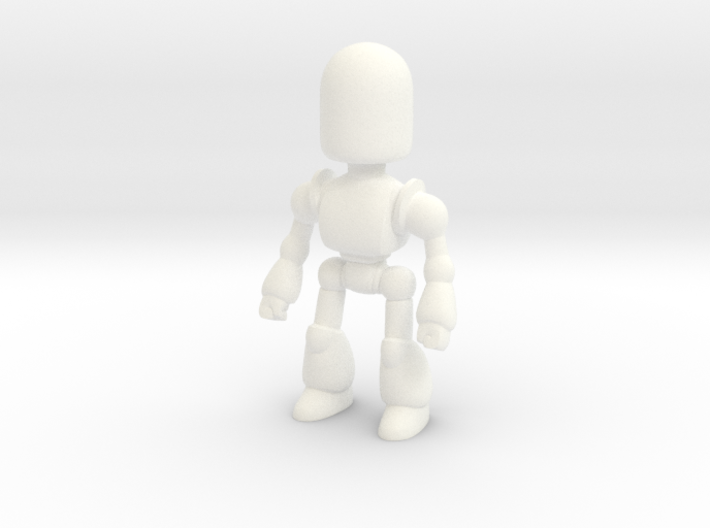 Toy Robot Large - 3D Printed Figurine 3d printed