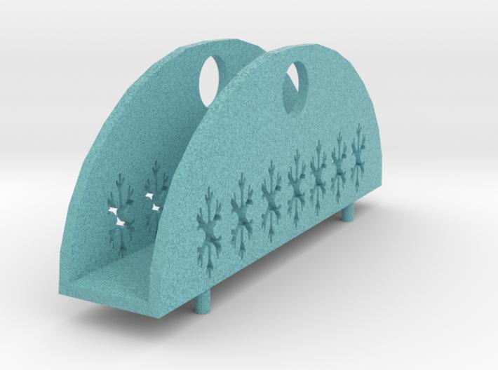 Bowmodel Napkin Holder/servettenhouder Boogmodel 3d printed