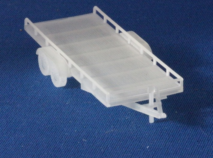 Trailer Assortment HO Scale 1/87 FUD material 3d printed Add a caption...