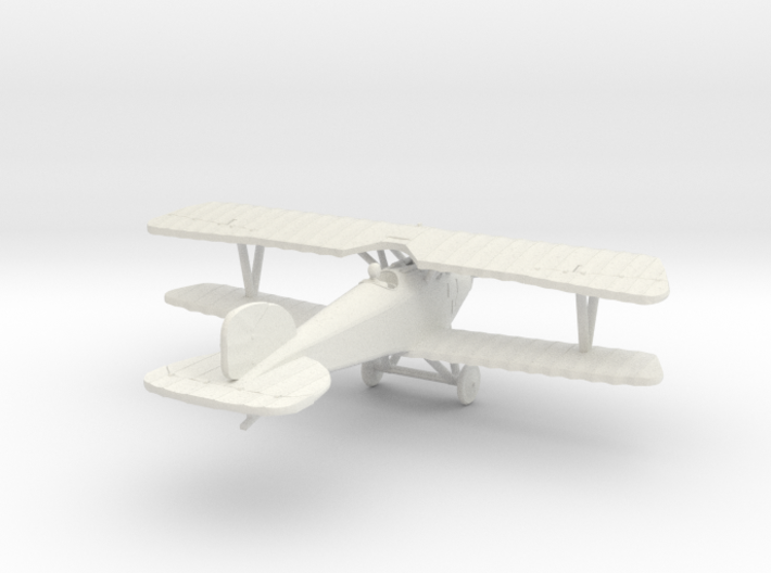 Albatros D.III (early version) 3d printed 1:144 Albatros D.III in WSF