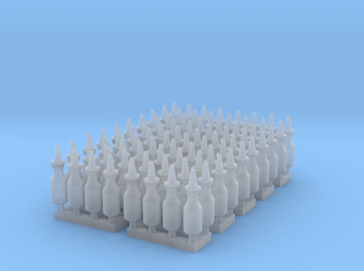 1:48 Quart Oil Bottles 80ea 3d printed