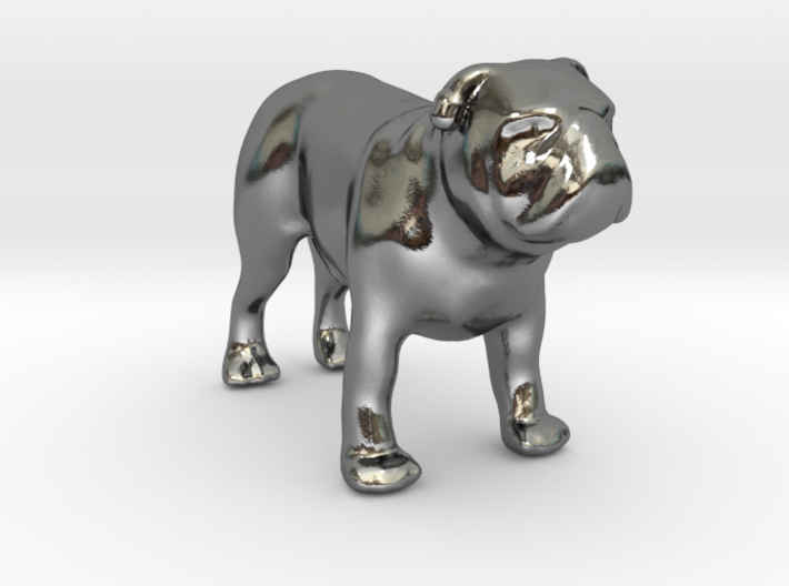 Bulldog - Your Pet 3d Figurine 3d printed