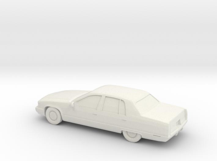 1/87 1996 Cadillac Fleetwood Brougham 3d printed