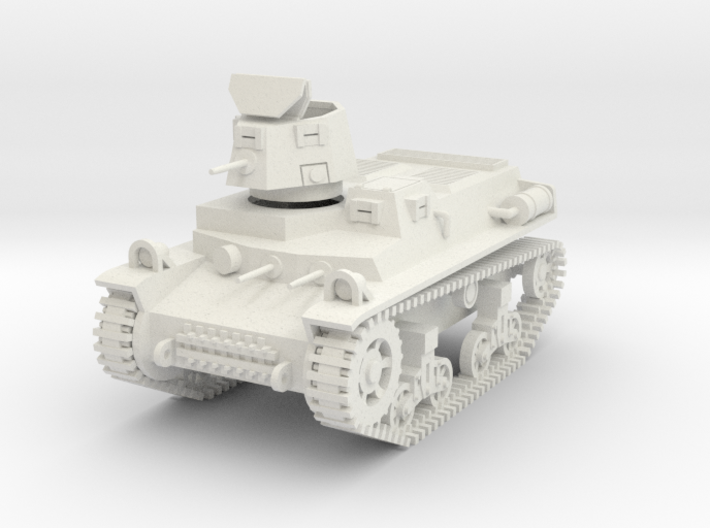 PV57B T16 Light Tank (Open Hatch) (28mm) 3d printed