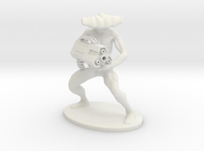 Shark with a friggin laser gun! 3d printed