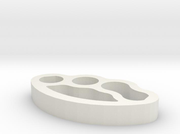 Knuckles3D 3d printed