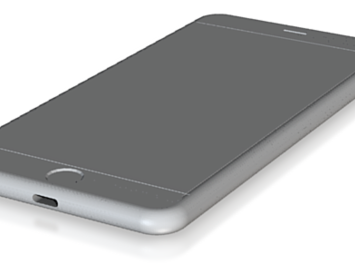 iPhone 6 Plus mockup 3d printed