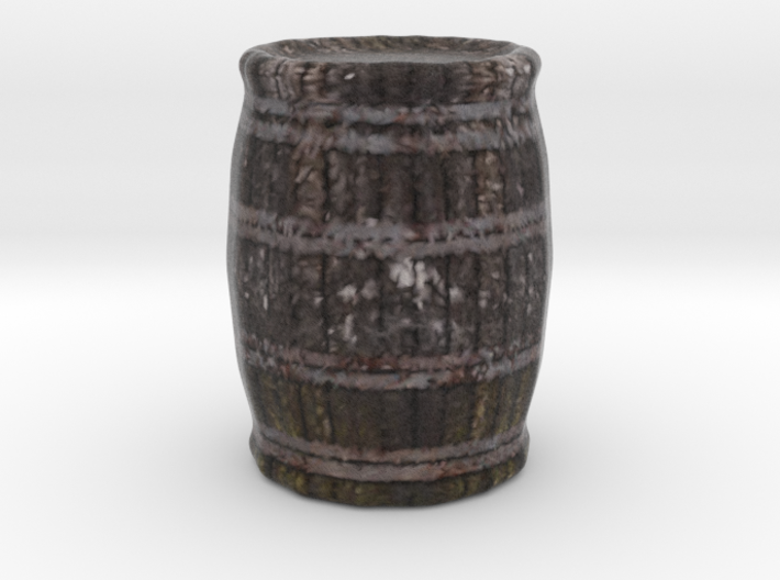 Miniature Barrel 3d printed