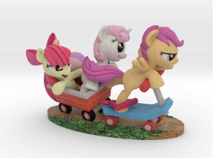 Sidekicks #2 - The Crusaders 3d printed Render only, not a photo