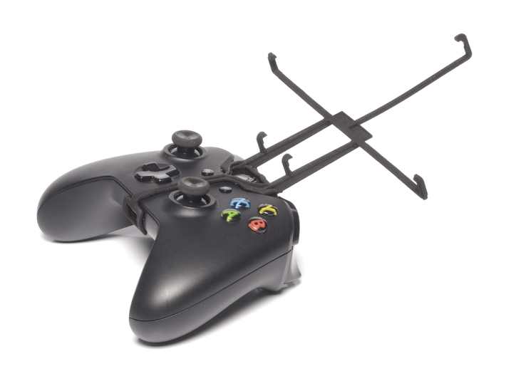 Xbox One controller & Lenovo A8-50 A5500 3d printed Without phone - A Nexus 7 and a black Xbox One controller