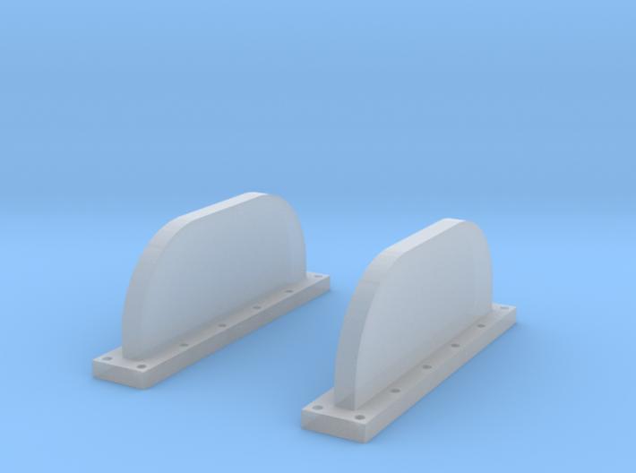 Apollo Scim Anten 1:48 Set of 2 3d printed