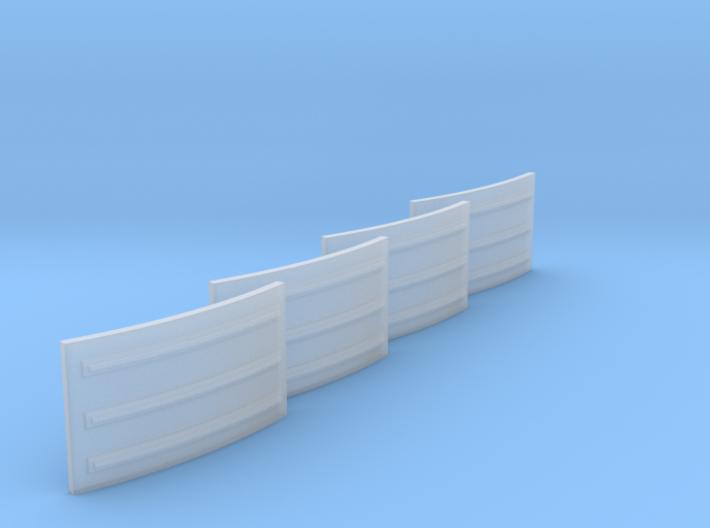 Apollo Small Rad Panels 1:48 Set of 4 3d printed