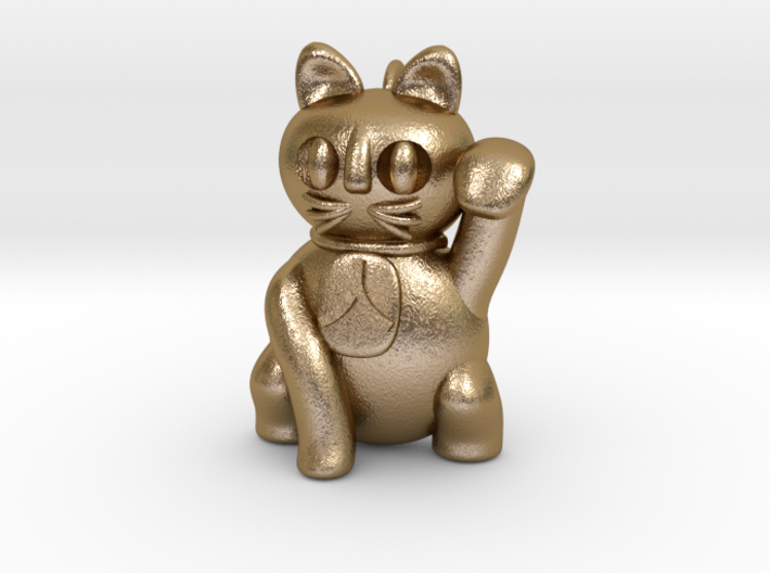 Manekineko pendant (A person is invited.) 3d printed