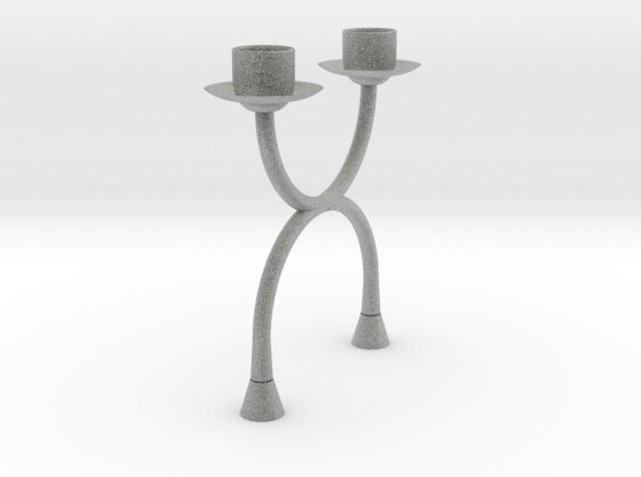 Candlestick functional2 (Ø21-22mm)/Kandelaar 3d printed