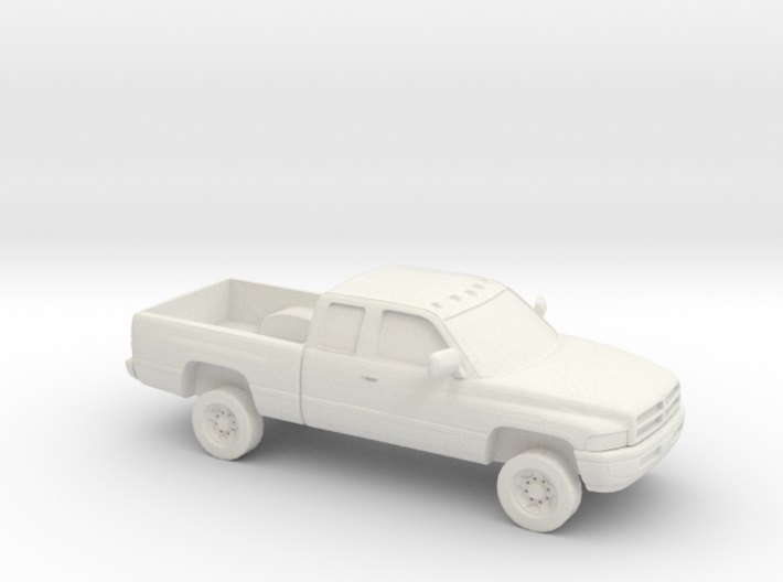 1/87 1994-01 Dodge Ram 2500 Extended Cab 3d printed