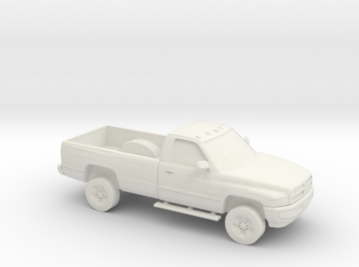 1/87 1994-01 Dodge Ram Single Cab 3d printed
